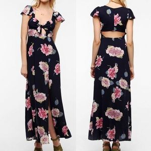 REFORMED URBAN OUTFITTERS Floral Maxi Dress M NWT